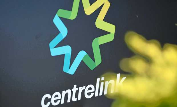 Centrelink signs in Melbourne, Saturday, June, 25, 2016.  (AAP Image/Tracey Nearmy) NO ARCHIVING