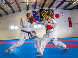 Karate athlete wins dual national titles against Australia's best