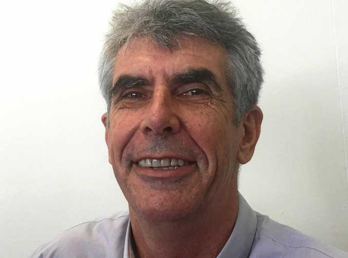 Mackay Conservation Group co-ordinator Peter McCallum.