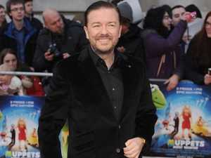 Ricky Gervais defends shocking joke