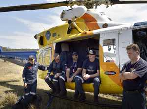 RACQ Life Flight rescue vision