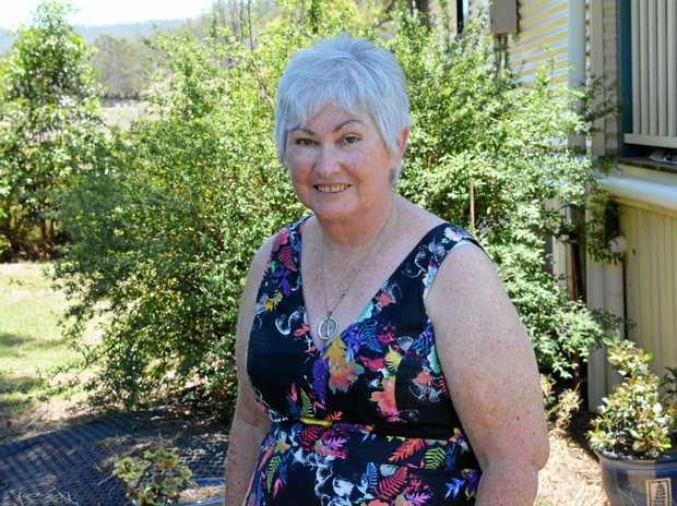 WALKING AGAIN: Rhonda Hodges was bedridden for 12 years.