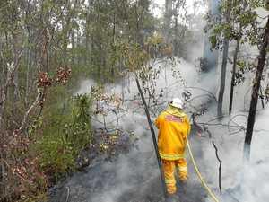 Lightning strikes up bushfires around Northern Rivers