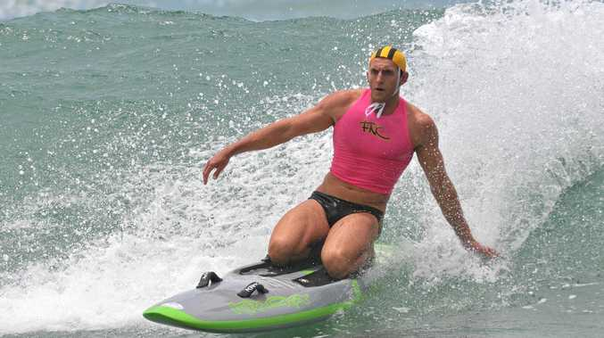WATER WORKS: Far North Coast surf life saving team head coach Scott McCartney has competed at most of the annual Surf Life Saving NSW Interbranch Championships.