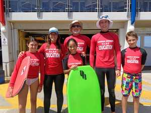 Surf's up for Sunshine Beach water babies
