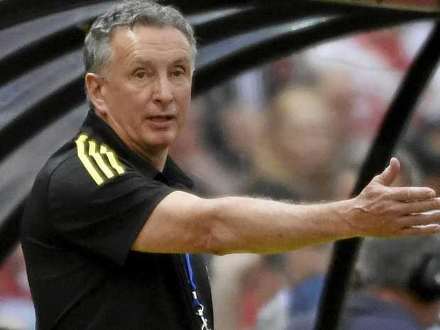 Wellington Phoenix coach Ernie Merrick.