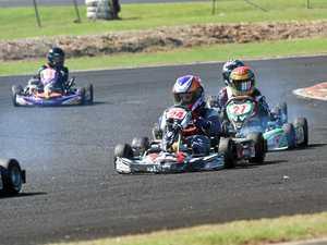 Final race meeting heats up at the Lismore Kart Club