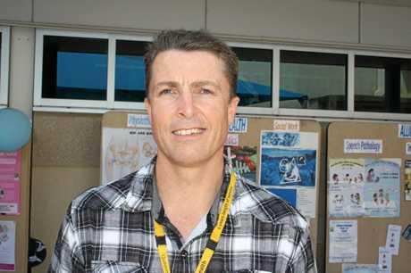 Gladstone Hospital allied health clinical network manager Stuart Orr.