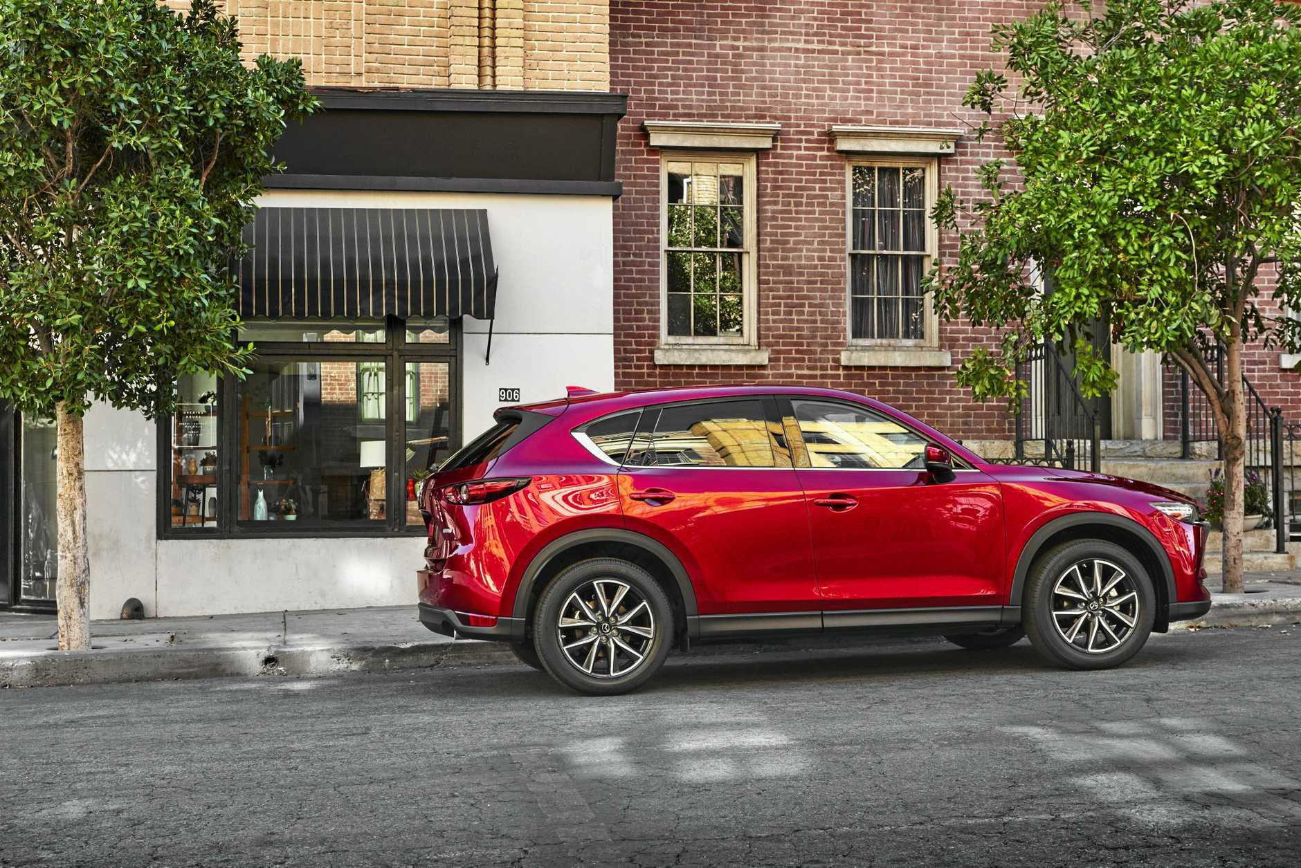 The 2017 Mazda CX-5 crossover SUV.