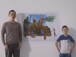 Kids' imagination inspires cool images