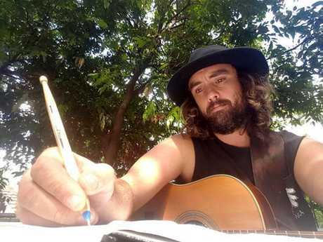 Tweed musician Matty Rogers is set for a Falls Festival slot after winning a Falls' Foster a Band Initiative competition.