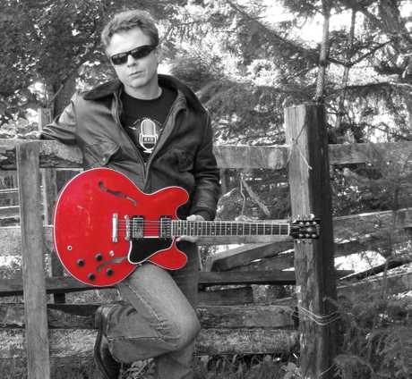 Byron Bay musician Dave Moss.