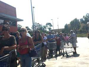 OPEN DAY: Hundreds turn up to shop as new Aldi opens