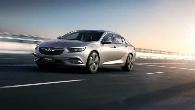 2018 Holden NG Commodore revealed for the first time.