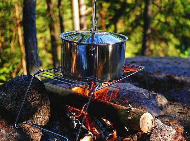 TASTY TREATS: The joys of the great outdoors.