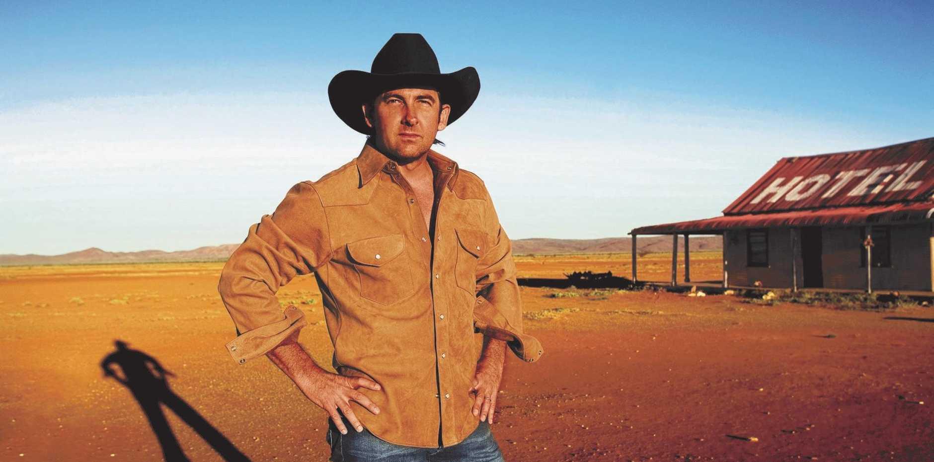 Country music singer Lee Kernaghan.