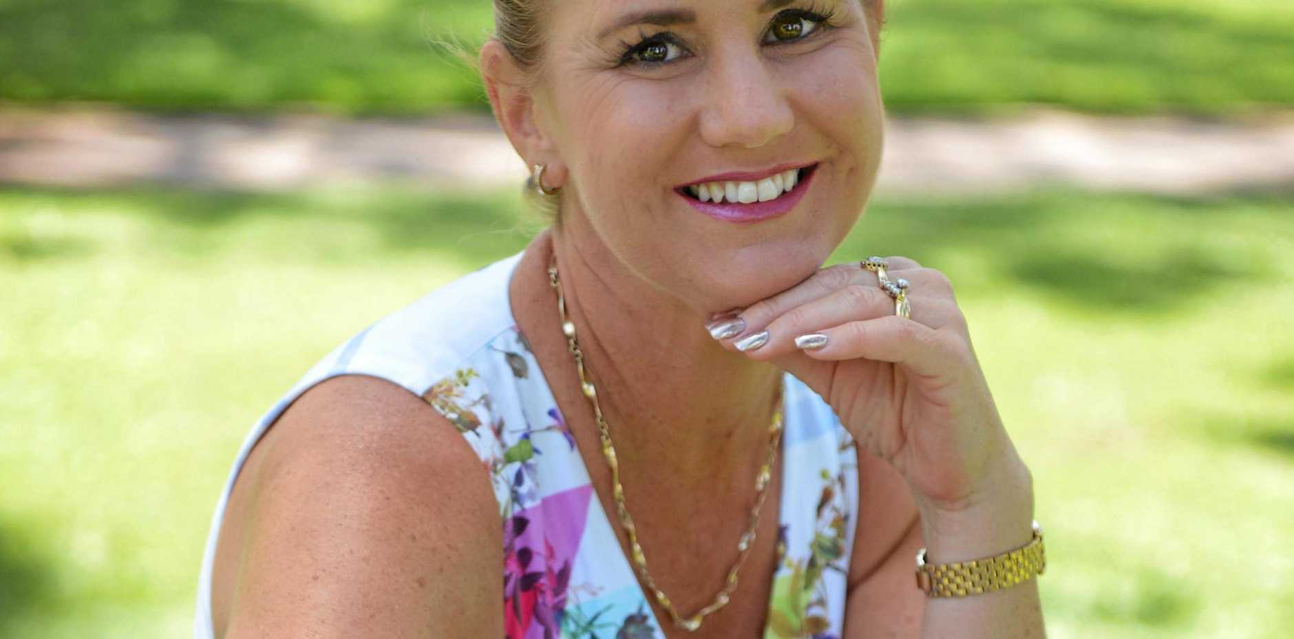 BUSY LIFESTYLE: Michele Perrett enjoys a contrast of beauty therapy and beef farming.