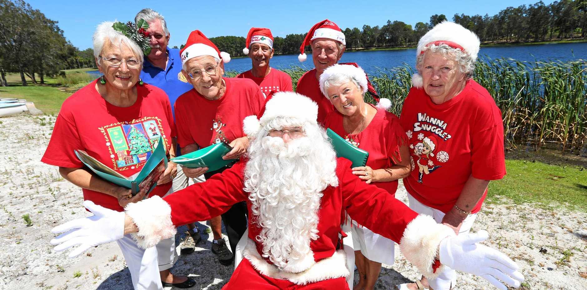 Kingscliff Chrismas Carols - Des Lund, Colin Lacey, Geoff Dart, Sheila Patterson, Joan Rice, Alan McCarthy, Sandy Brand
