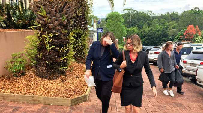 ATTEMPTED MURDER: Jessica Honey Fallon, 22, (left) has pleaded not guilty to the April 2014 attempted murder of Murwillumbah man Michael Anthony Martin.