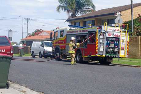 Roscommon Road is closed off as emergency services investigate a suspicious package at Boondall State School.