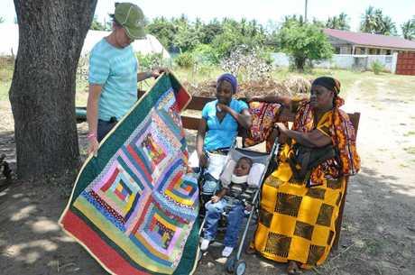 Umoja Orpanage - quilt. Photo: contributed