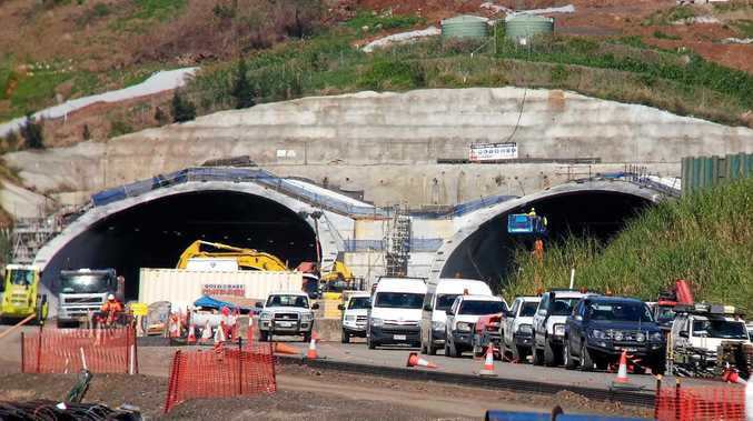 File photo of the St Helena tunnel.