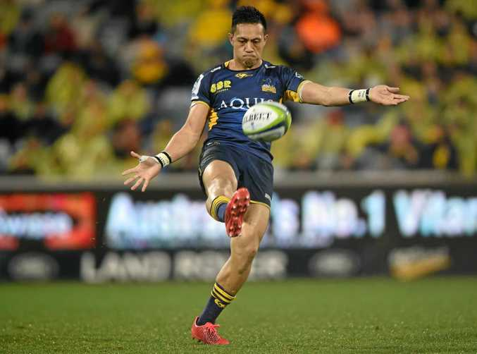 Christian Lealiifano of the Brumbies.