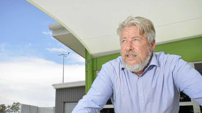 Retiring MP Ian Rickuss.