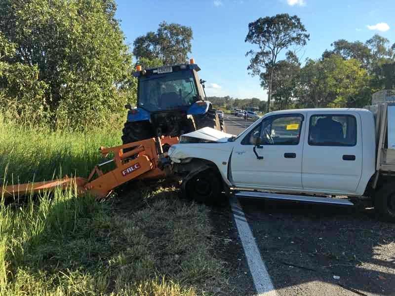 Crash on Hay Point Road December 7, 2016.