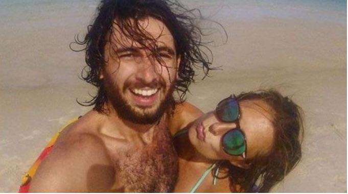 Sam Beattie and Michele Segalla. Photo: Instagram