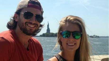 Sam Beattie and Michele Segalla. Photo: Facebook