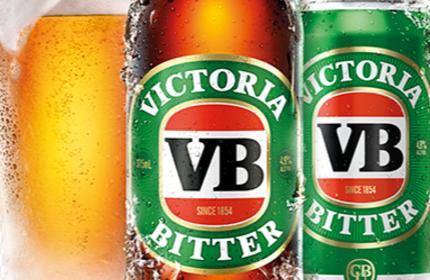 Victoria Bitter.