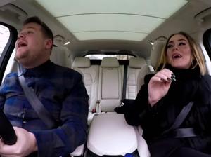 Adele's Carpool Karaoke biggest viral hit on YouTube in 2016