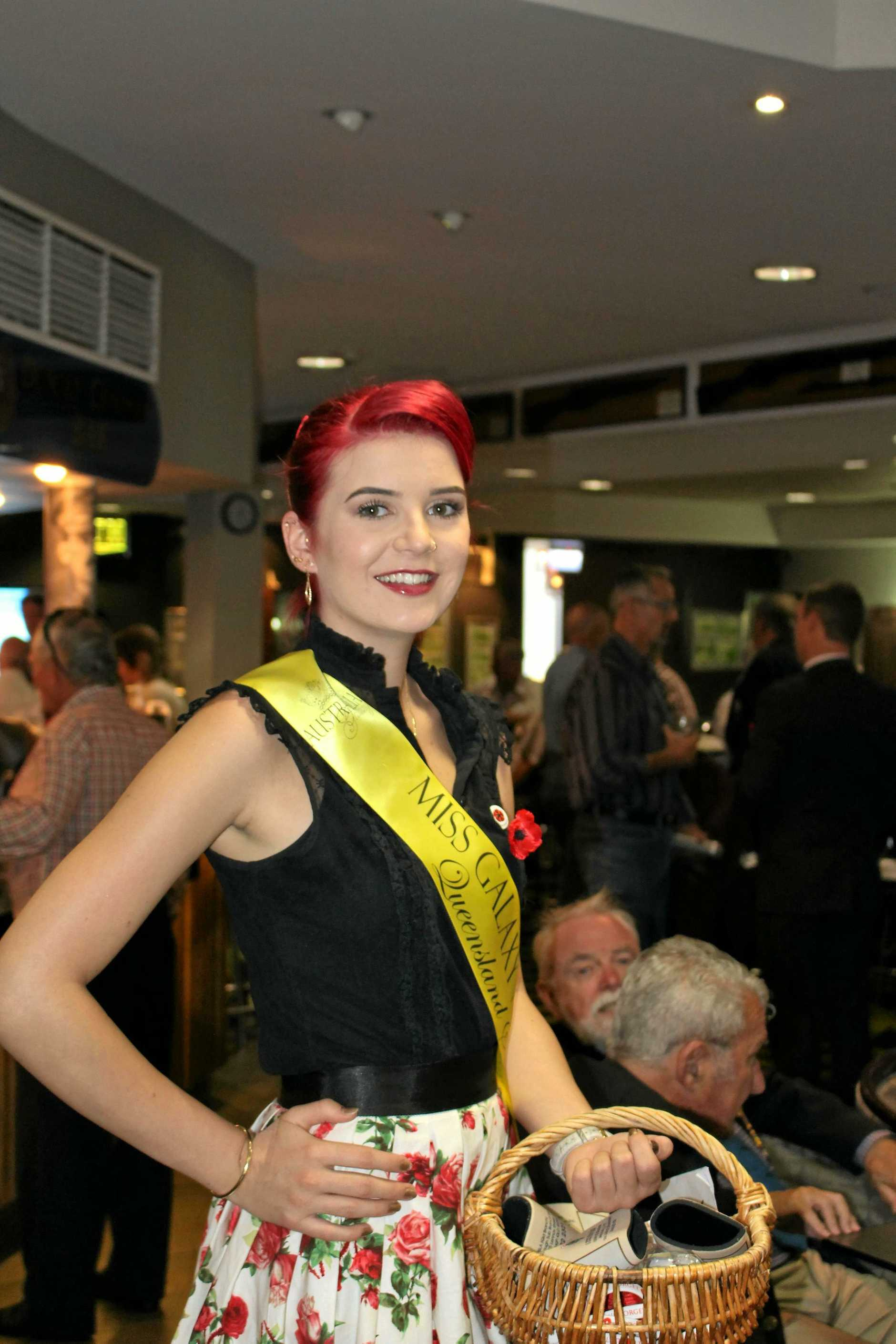 HELP ING OUT: Jesse Heldens will host a Miss Galaxy Pageant Cocktail Party at the Maryborough RSL raising funds and awareness for the Make-A-Wish Foundation.