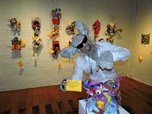 Crazy critter art exhibition at Gatakers Artspace