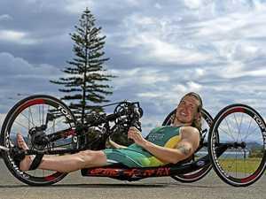 Hear inspiring words from Paralympian