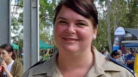 RSPCA Regional Inspector Natalie Aitken.