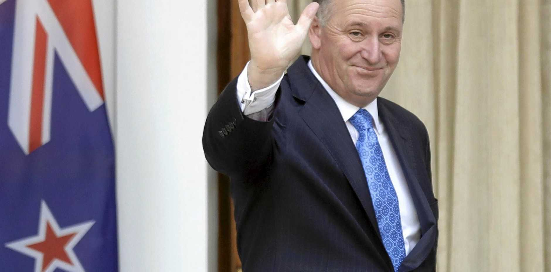 New Zealand Prime Minister John Key will hand over the reins of power on Monday.