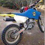Yellow Suzuki DRZ400 Trail Bike stolen from Zilzie November 12. Actual vehicle.