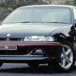Black 1995 Holden Commodore Sedan rego 687DFT, Gracemere October 30