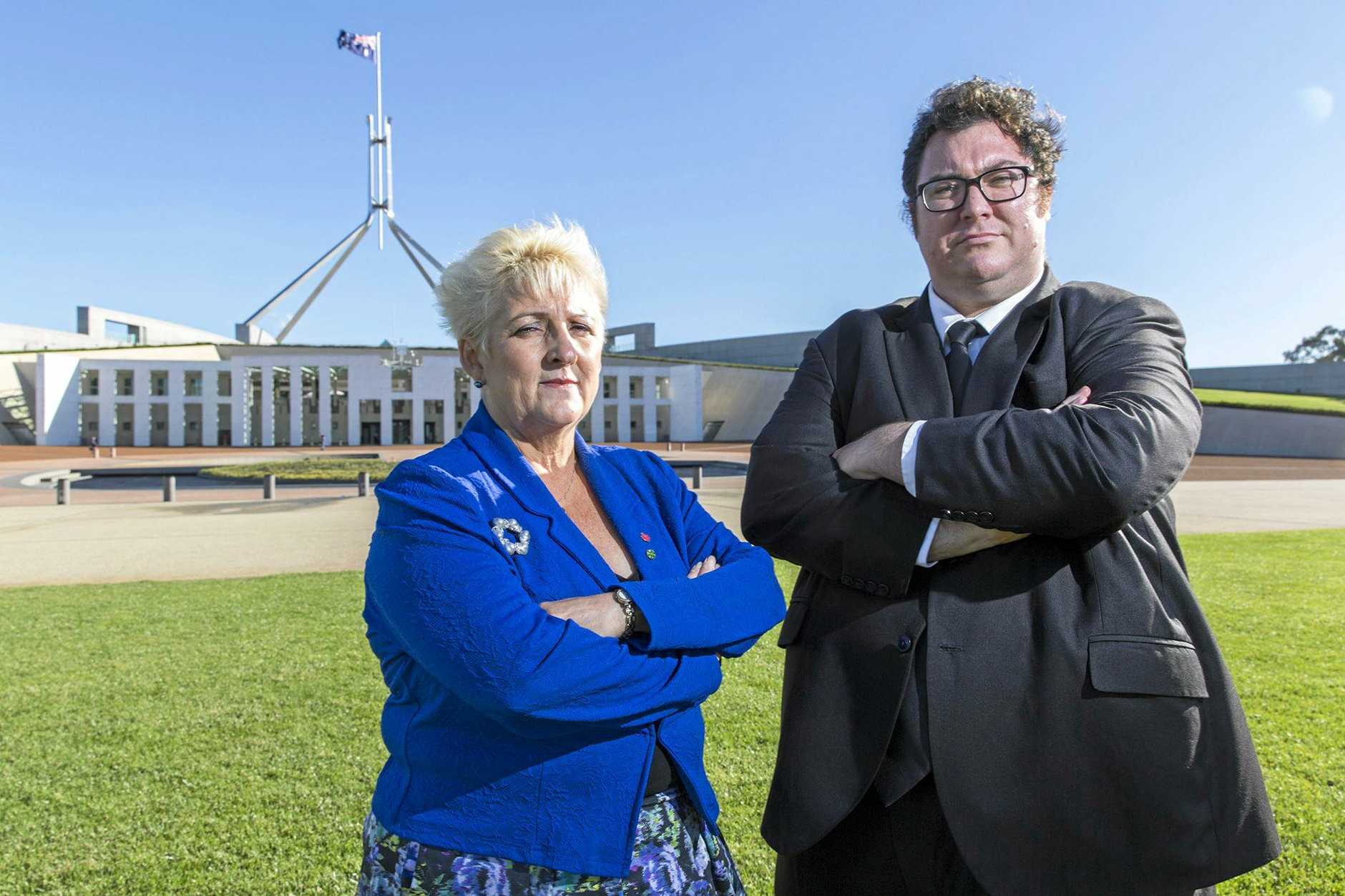 SPENDING: Capricornia MP Michelle Landry and Dawson MP George Christensen's office costs were each more than $100,000 in the first six months of this year.
