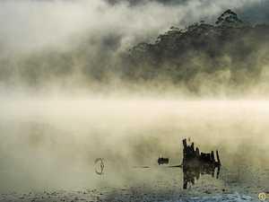 Misty mornings strike eerie chord