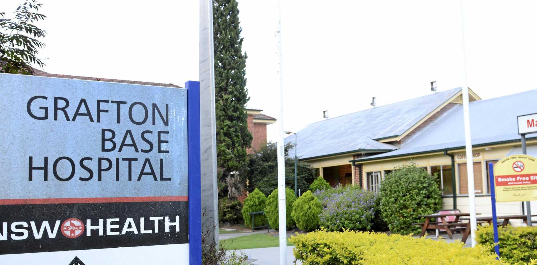 About one quarter of Grafton Base Hospital patients stay in the emergency department for more than four hours.