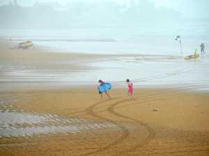 Showers forecast to hit coast