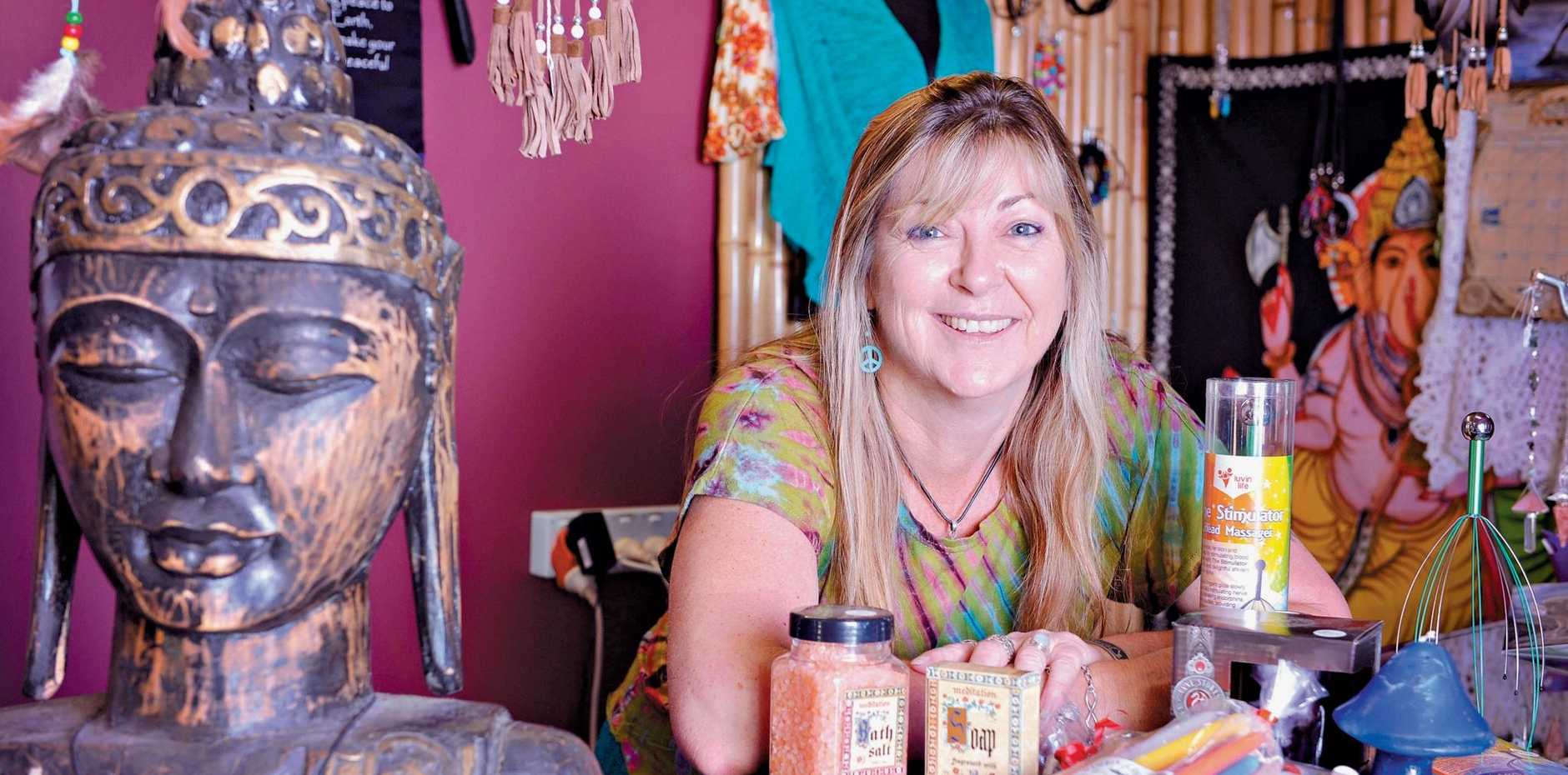 LOVING THE LOCALS: Euphoria owner Lynn Wake has a number of secret Santa ideas.