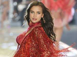 Irina Shayk and Bradley Cooper happy as baby looms