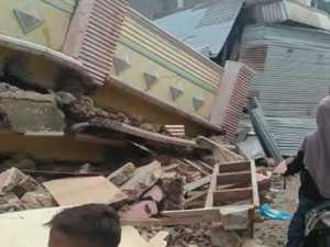 Earthquake strikes Indonesia where Tsunami devastated
