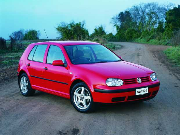 GOOD GOLF: The Mk4 (1997-2003) Volkswagen Golf is a decent buy for those on a budget, with good ones available for under $4000.