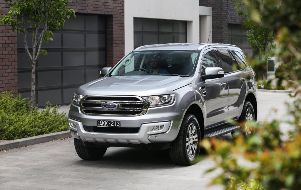 URBAN CHOICE: The new Ford Everest Trend RWD is $5000 cheaper than its AWD namesake, making it the more cost-effective option for city dwellers not needing 4x4 abilities