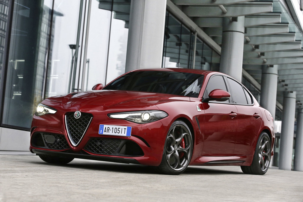 RAPID ALFA: A genuine BMW M3 and Merc-AMG C63 hunter, Giulia QV boasting a 375kW twin-turbo V6 hits 100kmh in 3.9-seconds and goes on to over 300kmh.